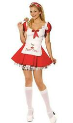 Sweet Treat Candy Girl Sexy Ladies Adult Costume Large 10-14 $28.17