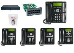 Avaya Ip Office 500 Ipo 500 V2 11 Atm4 Combo Card 1 1416 And 4 1408 Phones