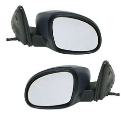 09-18 Vw Tiguan Mirror Power Heated W/signal And Puddle Lamp Left And Right Set Pair
