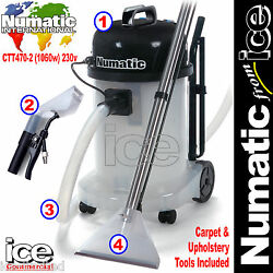Numatic Ctt470-2 Car Valeting Carpet And Upholstery Wash Cleaner Machine Equipment