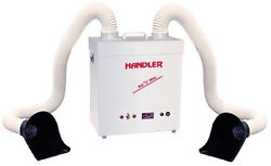 Handler Red Wing Super Sucker 62 Dust Collector Dyna-vac Dental Lab Suction