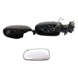 03-11 Saab 9-3 Rear View Door Mirror Power Folding Heated W/memory Driver Side