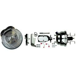 1964-74 Gm Wilwood Front Disc Brake Conversion Kit With Stock-height