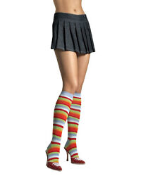 Morris Costumes Women's Quality Knee Rainbow Adult Thigh Highs One Size. UA5576