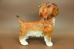 Terrier Silky Patina Special Handcrafted Bronze Sculpture High Quality Gift T