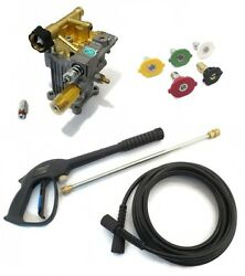 Universal Pressure Washer Pump And Spray Kit For Honda, Excell, Troybilt, Generac