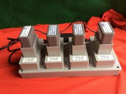 Depuy Battery Charger 5430-47-000 W/ 4- 5430-35-000 Batteries