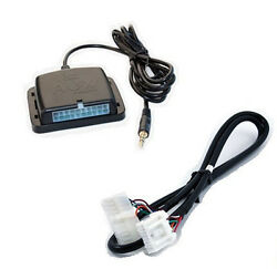 Auxiliary Audio Input Interface. Add Aux Mp3 Jack To 02+ Mazda Factory Radio