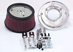 Randr Cycles Cv And Delphi High Flow Air Cleaner Kit For Harley - Davidson Non Tbw