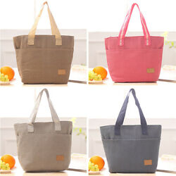 Chic Waterproof Insulated Thermal Cooler Lunch Box Picnic Carry Tote Storage Bag