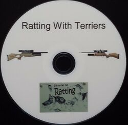 Ratting With Terriers FULLY PRINTED DVD theoben bsa daystate logun air arms