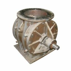 16andquot Dia Heavy Duty Airlock Stainless Steel Rotary Valve