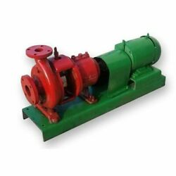 5 Hp Used Dean Brothers Hot Oil Centrifugal Pump - 2 X 3 X 8 1/2