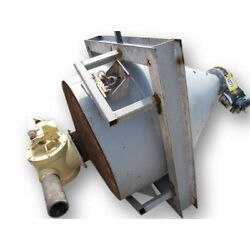 Used 26 Cubic Foot Weigh Hopper With Inlet Diverter Valve