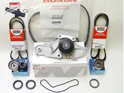 Complete Honda Odyssey Timing Belt And Water Pump Kit 02 03 04 19200-p8a-a02 H-44
