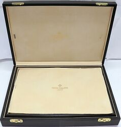 Autentic Patek Philippe 12 Watches Travel Case Not Sold In Stores Very Rare