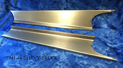 Chevrolet Chevy Pickup Truck And Panel Delivery Steel Running Board Set 1941-46