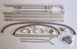 Ford Dual Open Hood Hinge Assembly Kit 2829 1928-1929