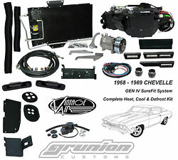 1968 1969 Chevelle wo AC Heat Air Conditioning Defrost Vintage Air Kit