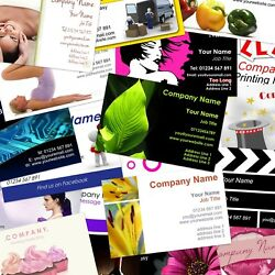 Business Cards Personalised Wide Range Of Free Templates Or Upload Your Own