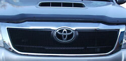 Toyota Hilux - Upper Grill - Black Finish 2012 To 2015