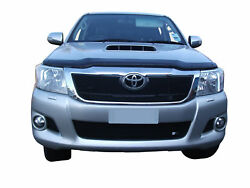 Toyota Hilux - Front Grill Set - Black Finish 2012 To 2015