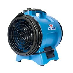 Xpower X-121/2 Hp Variable Speed Confined Space Ventilation Exhaust Blower Fan