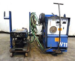 Miller 1983 Constant Potential Welding Power Source Cp-300 W/ S-52e Wire Feeder