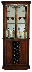 Howard Miller 690-000 Piedmont - Traditional Cherry Wine & Bar Cabinet 690000
