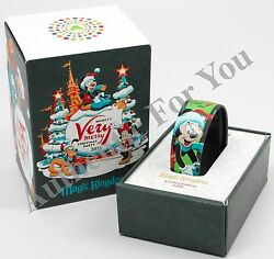 New Disney 2015 Mvmcp Mickey Christmas Party Le Magic Band Link Later Magicband