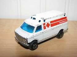 zee zylmex chevy ambulance van 1 64