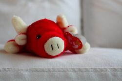 Ty Snort Beanie Baby   Extremely Rare   Excellent   Errors   1995   Retired  