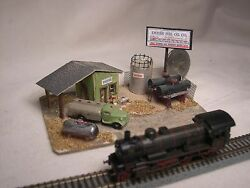 z scale scratch built empire fuel oil