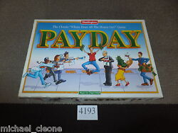 payday waddingtons family board game fully