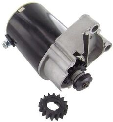 Starter Motor Gear Fits Briggs And Stratton 14 16 18 Hp 497596 V Twin W/ Free