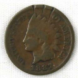 1887 U.s. Indian Head Cent Copper Penny Coin