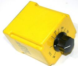 Up To 2 Potter And Brumfield Timer .6 - 60 Seconds 120vac Cdb-38-70004