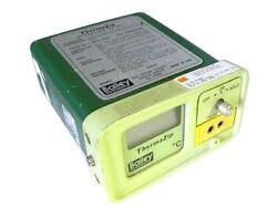 BAILEY INSTRUMENTS THERMAZIP TZCHR TEMPERATURE READER - SOLD AS IS