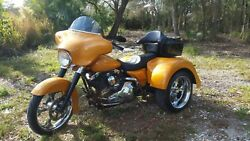 Harley Davidson Touring Bagger Trike Axle Conversion with Body Kit (also others)