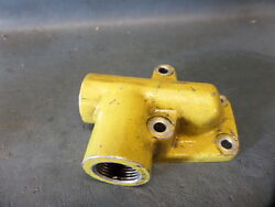 Lycoming Continental Aircraft Engine Oil Pressure Relief Thermostat Assy P-597