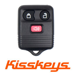 500PCS 3 Buttons Keyless Remote Key Fob Alarm Transmitter For Ford CWTWB1U331