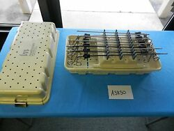 Jarit Surgical Laparoscopic Roto-lok Graspers And Forceps Set With Case