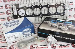 Cp Piston 84.5mm/8.51 Twin Vanos Eagle Rods Cometic Head Gasket Set For Bmw M54