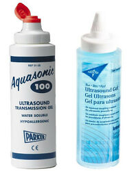 New Ultrasound Transmission Gel 8.5 OZ. Squeeze BottleAquasonic100 Replacement