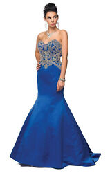 MERMAID RED CARPET EVENING FORMAL PROM QUEEN GOWN MILITARY BALL DESIGNER DRESS  $129.99