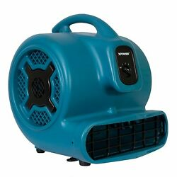 Xpower X-830 Air Mover Blower Fan For Water Damage Restoration Carpet Dryer-blue