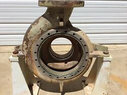 Ahlstrom / Sulzer Eln 15 8x6x13 Pump Casing With Stand 304 Ss Stainless