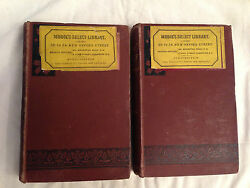 Morley Roberts - In Low Relief - 1st 1890 Chapman And Hall - Two Volumes Rare