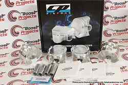 Cp Forged Pistons For Subaru Ej25 Dohc Bore 100mm +0.5mm 8.51 Cr Sc7410