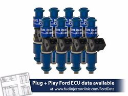 Fuel Injector Clinic 1100cc Injectors For 2007-2012 Ford Mustang Gt500